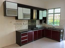 kabinet dapur aluminium 2016: Kabinet dapur moden 2016 sketsarumahminimalisdot kabinet dapur l