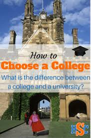 difference between college and university how to choose a what is the difference between college and university degrees between liberal arts colleges and research