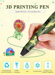 YEMELYA <b>V2S</b> creative <b>3D printing</b> pen with led display diy <b>printer</b> ...