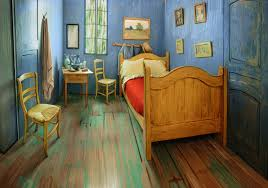 inside van gogh s bedroom the art institute of chicago s re creation of vincent van gogh s the bedroom