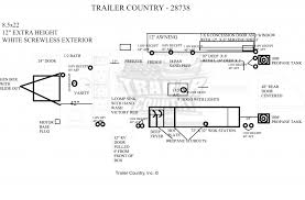 car trailer wiring diagram wirdig trailer wiring diagram moreover sundowner horse trailer wiring diagram