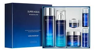 Купить <b>набор</b> для лица <b>Super</b> Aqua Ultra Hyalron <b>Set</b> II (эмульсия ...