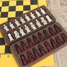 <b>Easytoday</b> Outdoor <b>Chess Game</b> Set Portable Plastic Chess Pieces ...