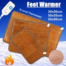 3 Sizes Winter Heating Foot Mat Office <b>home</b> Electric <b>Heating Pad</b> ...