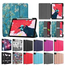 Funda For iPad Pro 11 2020 <b>Case</b> With Pencil Holder Smart <b>PU</b> ...