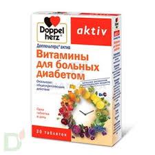 <b>Витамины</b> Доппельгерц® актив для <b>больных диабетом</b>, 30 табл ...