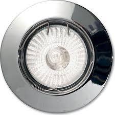 Встраиваемый <b>светильник Ideal Lux Jazz</b> Cromo, GU10, 50 Вт ...