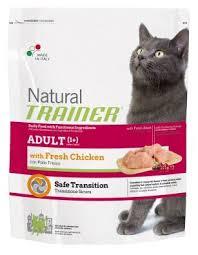 <b>Корм</b> для кошек <b>TRAINER Natural</b> Adult cat Fresh Chicken dry (12.5 ...