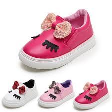 Fashion Baby <b>Girls Bowknot</b> Shy Eyes Sneaker Casual <b>Shoes</b> ...