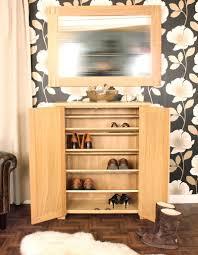 aston solid oak shoe cupboard baumhaus assembled aston solid oak