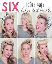 25 best ideas about pin up hair on pin up hairstyles vine hair and wedding hair pin ups
