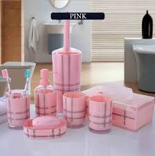 set acrylic bathroom accessories sets toothbrush holder