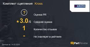 Отзывы о комплектах <b>сцепления Kross</b>: Оценки, Рейтинги, Сайт ...