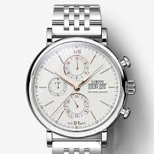 <b>Switzerland Luxury Brand</b> Wristwatches <b>LOBINNI</b> 7mm Ultra-thin ...