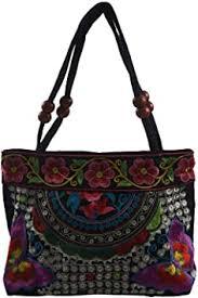 SODIAL(R) Chinese <b>Style</b> Women Handbag Embroidery Ethnic ...