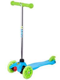 Самокат Ridex 3D Zippy 2 0 120 80 Light Blue - Чижик