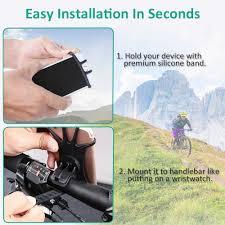 Bovon <b>Bike Phone</b> Mount, 360°Rotation <b>Silicone Bicycle Phone</b> ...