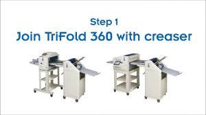 <b>CYKLOS TriFold 360</b> Falzmaschine - YouTube