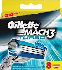 <b>Кассеты Gillette Mach3 Turbo</b> 8 шт