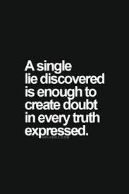 You Lied Quotes on Pinterest | Telling Lies Quotes, Betrayed Love ... via Relatably.com