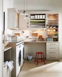 Laundry Rooms Can Also Work As Craft Rooms Offices Or Extra Storage  F