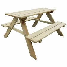 Harriet Bee Craig <b>2 Piece</b> Children's Picnic Table and <b>Bench Set</b> ...