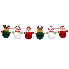 <b>Christmas</b> Tissue Paper Honeycomb Balls Santa Claus <b>Glass</b> ...