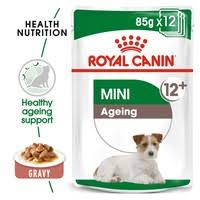 <b>Royal Canin</b> Mini <b>Ageing 12</b>+ Wet Dog Food in Gravy - From £7.62