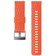 Coral 24mm <b>silicone strap for</b> outdoor <b>sports</b>