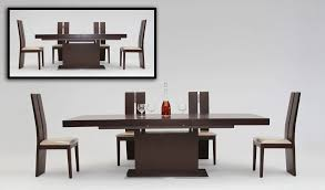 Danish Modern Dining Room Set Imposing Decoration Modern Dining Table Chairs Contemporary Luxury