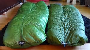 cesar and the woods zpacks sleeping bags double review degree recently in back to back episode 2 i briefly talked about my two zpacks sleeping bags and how i think that for my purposes ultralight and long distance