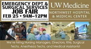 northwest hospital medical center linkedin our ed or job fair is next week don t forget to register at lnkd in ggch59p