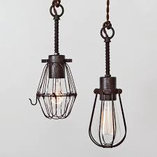 oval bulb cage light pendant light industrial hanging light ceiling light plug in pendant lighting swag light hardwire or ceiling canopy kit cage pendant lighting