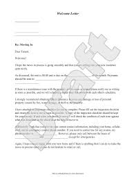 welcome letter template welcome letter sample as a landlord you can make the transition period much easier by providing a welcome letter which serves as