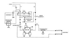 single phase starter wiring diagram images wiring diagrams 115v electric motor controls wiring diagrams 230v