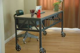 office desk vintage furniture industrial furniture desk design with wooden top table and metal leg with black desk vintage espresso wooden
