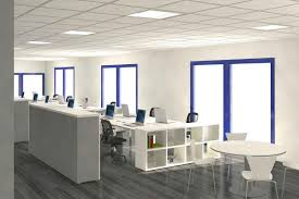 contemporary office interior design ideas. office u0026 workspaceworkspace cool home and break room work space minimalist white design idea with blue windows frame a contemporary interior ideas