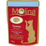 <b>Паучи Molina Taste &</b> Quality Tuna Light Meat in Jelly тунец в желе ...