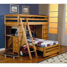 wooden bunk bed with desk bunk bed with table underneath loft beds computer desk bunk bed computer desk