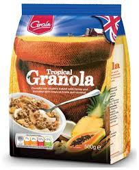 <b>Гранола Grain Тропическая</b> смесь, пакет — купить по выгодной ...