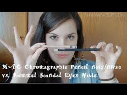 <b>MAC</b> Chromagraphic <b>nc15</b>/<b>nw20</b> vs. Rimmel London Scandal Eyes ...
