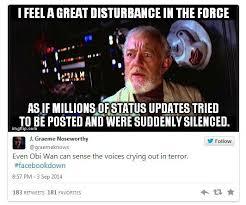 What do you meme Facebook is down? | ITProPortal.com via Relatably.com