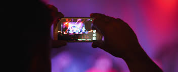 Image result for phone concert