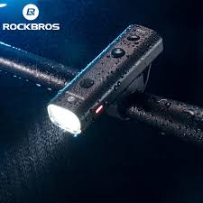 <b>ROCKBROS Bike Light Rainproof</b> USB Rechargeable LED ...