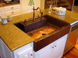 hammered copper kitchen sink: copper sink and hammered sinks farmhouse