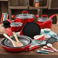The Pioneer Woman <b>Vintage</b> Speckle 24 <b>Piece</b> Cookware Combo <b>Set</b>
