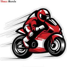 <b>Three Ratels TZ</b> 751 15*18.5cm 1 5 pieces Biker on board ...