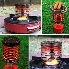 <b>Portable Mini Outdoor Folding</b> Metal Heating Gas Stove Cover ...