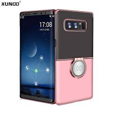 For samsung galaxy Note 8 Case Xundd <b>Luxury Transparent hard</b> ...