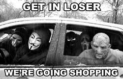 funny film Mean Girls meme horror scream Ghostface SCREAM 4 get in ... via Relatably.com